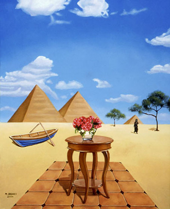 Desert Life Surreal Art