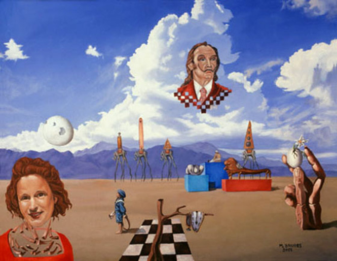 ODE TO SALVADOR DALI Surreal Art