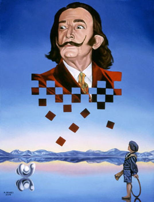 Remembering Salvador Dali Surreal Art